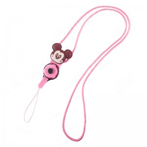 REMAX Ropes Doll [Pink], Smycz do telefonu