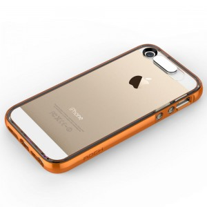 "Rock Light Tube Case [Orange], ""Świecące etui z dla iPhone 5/5s/SE"
