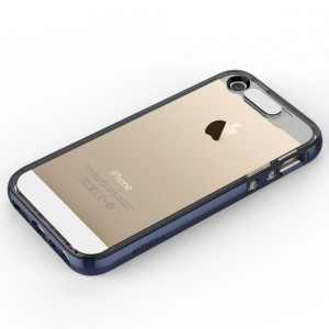 "Rock Light Tube Case [Navy Blue], ""Świecące etui z dla iPhone 5/5s/SE"