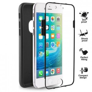 "PURO Total Protection Case [Black], Całkowita ochrona iPhone 6/6S (4.7"")"