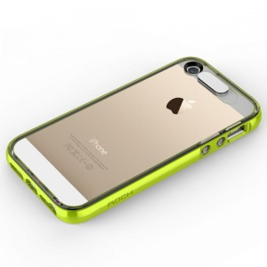 "Rock Light Tube Case [Green], ""Świecące etui z dla iPhone 5/5s/SE"