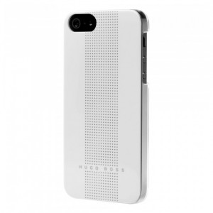 Hugo Boss Dots [White], Etui dla iPhone 5/5s