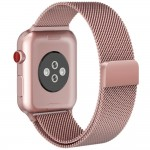 Tech-Protect MilaneseBand [Rose Gold], Bransoleta do Apple Watch 1/2/3 (42mm)