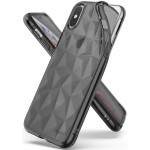 Ringke Air Prism [Smoke Black], Etui dla iPhone X/XS