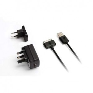 Griffin Wall Charger [Black], Ładowarka sieciowa EU/UK do iPad/iPhone/iPod
