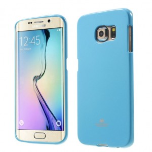 Mercury/Goospery Jelly Case [Baby Blue], Etui silikonowe dla GALAXY S6 Edge