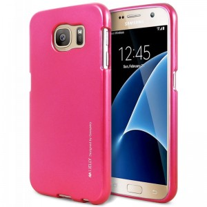 Mercury/Goospery iJelly Case [Hot Pink], Pokrowiec dla GALAXY S7