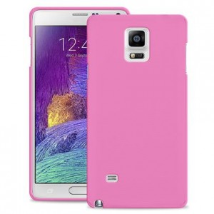 "PURO Ultra Slim ""0.3"" Cover [Pink], Ultra cienkie etui dla Galaxy Note 4"