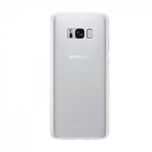 Samsung Clear Cover [Silver], Etui do Galaxy S8