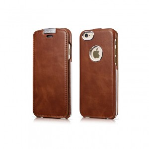 I-Carer Warrior Vintage [Brown], Skórzane etui dla iPhone 6/6s