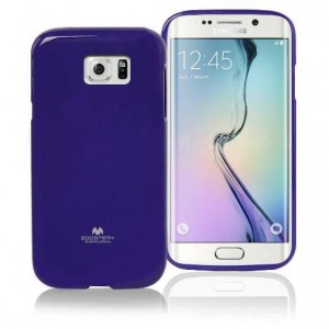 Mercury/Goospery Jelly Case [Purple], Pokrowiec silikonowy dla GALAXY S6 Edge