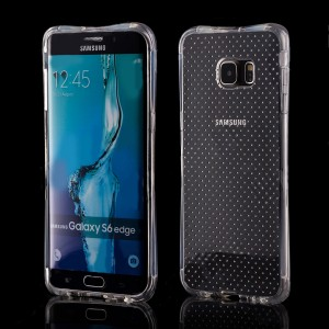 Hurtel Anti-Shock Case [Transparent], Żelowe etui dla Galaxy S6 Edge Plus