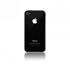 Apple Obudowa tył [Black], Szklana klapka do iPhone 4G