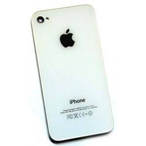 Apple Obudowa tył [White], Szklana klapka do iPhone 4G