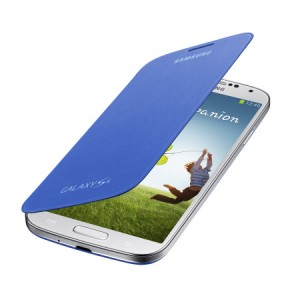 SAMSUNG Flip Cover [Light Blue], Oryginalne etui dla GALAXY S4