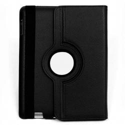 "Extreme Style Eco Leather 360"" Rotating [Black], Pokrowiec  na Galaxy Tab2  7"""