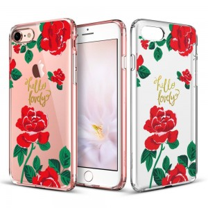 ESR Art Case [Red Rose], Etui dla iPhone 7/8