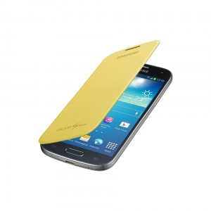 SAMSUNG Flip Cover Mini [Yellow], Oryginalne etui dla GALAXY S4 MINI