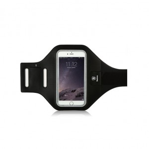 Baseus Sports Armband [Black], Opaska sportowa na ramię do smartfonów do 5.1""