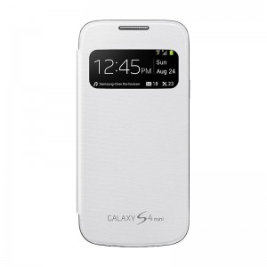 SAMSUNG S View Cover [White], Oryginalne etui dla GALAXY S4  MINI
