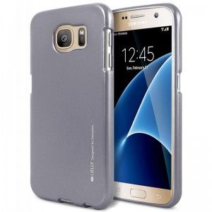 Mercury/Goospery iJelly Case [Grey], Pokrowiec dla GALAXY S7