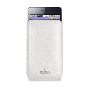 PURO Slim Essential Case [White], Etui do Galaxy S2