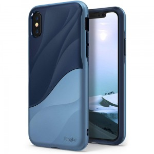 Ringke Wave [Coastal Blue], Etui dla iPhone X