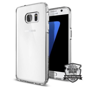 Spigen SGP Ultra Hybrid [Crystal Clear], Etui do Galaxy S7