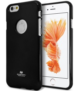 Mercury/Goospery Jelly Case [Black], Pokrowiec silikonowy dla iPhone 6 Plus/6S Plus