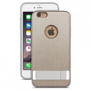 Moshi iGlaze Kameleon [Brushed Titanium], Etui & stand dla iPhone 6 Plus