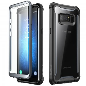 SUPCASE IBLSN Ares [Black], Pancerne etui do Galaxy Note 8