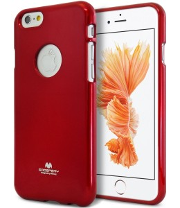 Mercury/Goospery Jelly Case [Red], Pokrowiec silikonowy dla iPhone 6 Plus/6S Plus