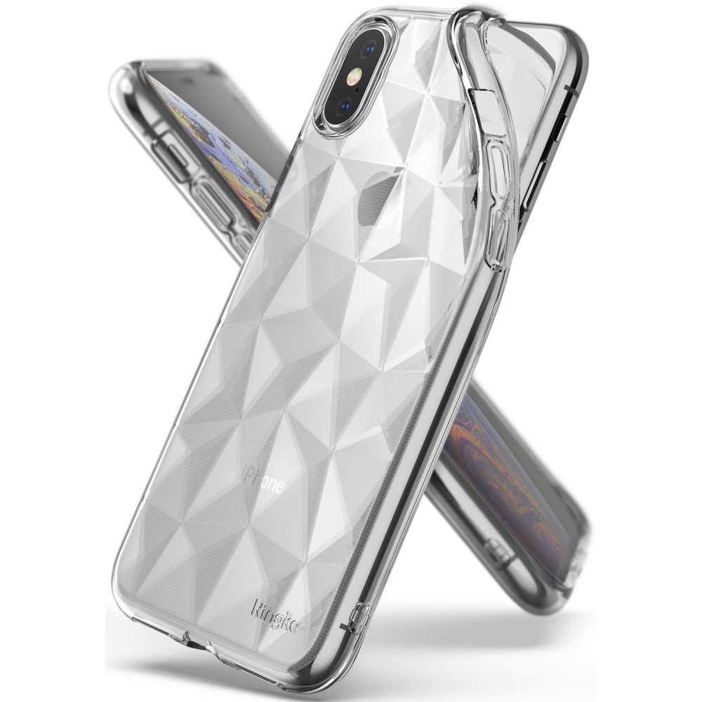 Ringke Air Prism Clear Etui Dla Iphone X Xs For 7 Plus Ink Black 8809628563230